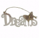 Follow Your Dreams Wooden Hanging Sign 61279